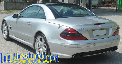 2004 Mercedes SL55 AMG F1 Performance For Sale (picture 5 of 6)