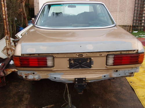 1980 Mercedes coupe for restoration(low mileage) For Sale (picture 6 of 6)