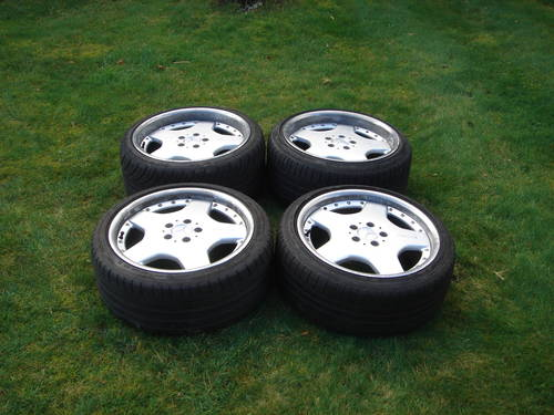 "Mercedes 18"" AMG Split Rim Alloy Wheels R129 SL For Sale (picture 1 of 1)"