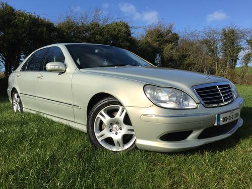 2003 S320 DESIGNO AMG (one of a kind special order) For Sale (picture 1 of 6)
