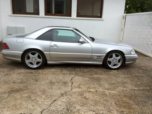 1999 MERCEDES SL500, LHD R129  31000km pack AMG RARE For Sale (picture 2 of 6)