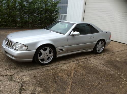 1999 MERCEDES SL500, LHD R129  31000km pack AMG RARE For Sale (picture 1 of 6)