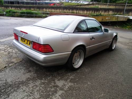 1996 Mercedes-Benz SL 320 (AMG Alloys) Reg DHE219 For Sale (picture 4 of 6)