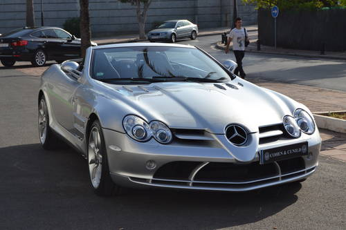 2008 Mercedes-Benz SLR McLaren Roadster For Sale (picture 1 of 6)