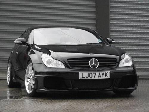 2007 Mercedes-Benz CLS 6.3 SV12-R BI TURBO 750 BRABUS ROCKET  For Sale (picture 1 of 6)