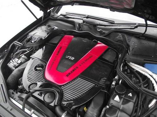2007 Mercedes-Benz CLS 6.3 SV12-R BI TURBO 750 BRABUS ROCKET  For Sale (picture 6 of 6)