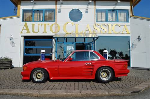 1989 MERCEDES 300SL GUARANTEED 10,000Mile COST£100K!10YR WARRANTY For Sale (picture 1 of 6)