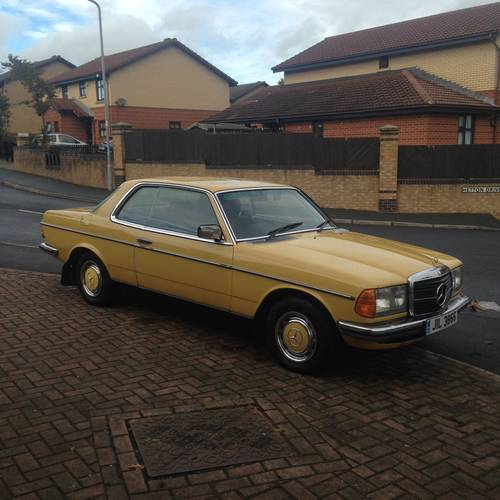 1978 MERCEDES 230c (W123 Coupe) 2 owners. SOLD (picture 1 of 6)
