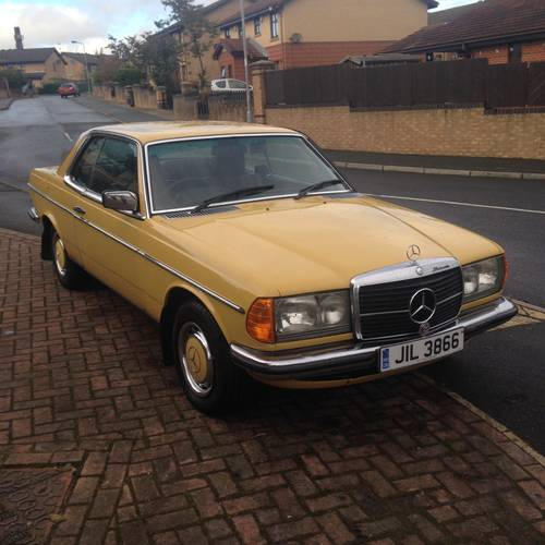 1978 MERCEDES 230c (W123 Coupe) 2 owners. SOLD (picture 2 of 6)