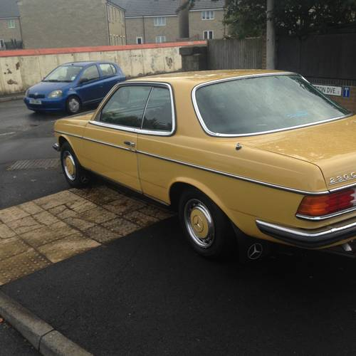 1978 MERCEDES 230c (W123 Coupe) 2 owners. SOLD (picture 3 of 6)