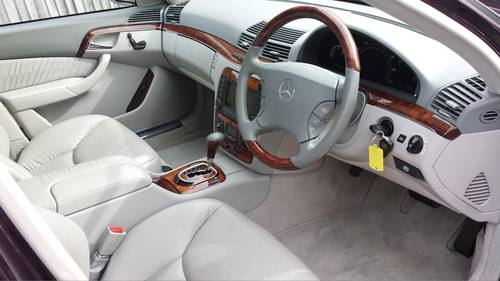 2005 Absolutely Stunning Mercedes S320 CDI Automatic For Sale (picture 3 of 6)