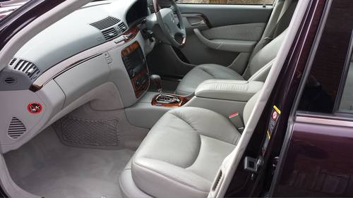 2005 Absolutely Stunning Mercedes S320 CDI Automatic For Sale (picture 4 of 6)