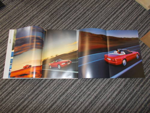 0000 mercedes sl 1999 sales book For Sale (picture 2 of 2)