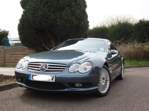 2002 Mercedes Benz SL55 AMG With Full MB Main Agent History For Sale (picture 1 of 6)
