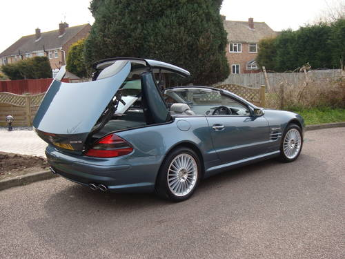2002 Mercedes Benz SL55 AMG With Full MB Main Agent History For Sale (picture 2 of 6)