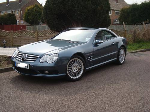 2002 Mercedes Benz SL55 AMG With Full MB Main Agent History For Sale (picture 3 of 6)