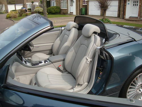 2002 Mercedes Benz SL55 AMG With Full MB Main Agent History For Sale (picture 5 of 6)