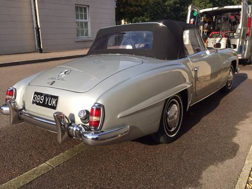 1957 EXCELLENT EXAMPLE 190SL CHASSIS UP RESTORATION For Sale (picture 1 of 6)