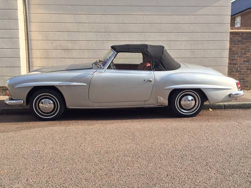 1957 EXCELLENT EXAMPLE 190SL CHASSIS UP RESTORATION For Sale (picture 2 of 6)