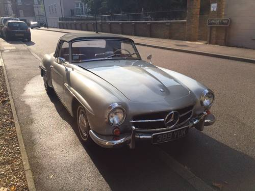 1957 EXCELLENT EXAMPLE 190SL CHASSIS UP RESTORATION For Sale (picture 3 of 6)
