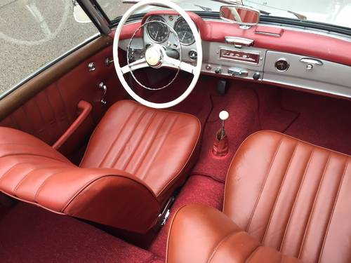 1957 EXCELLENT EXAMPLE 190SL CHASSIS UP RESTORATION For Sale (picture 4 of 6)
