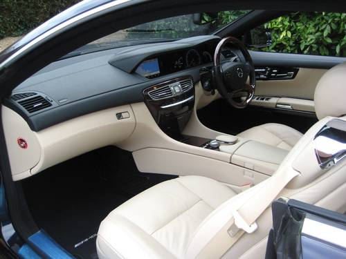 2011 Mercedes Benz CL500 AMG BlueEfficiency With Just 17000 Miles For Sale (picture 3 of 6)