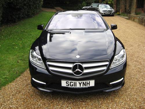 2011 Mercedes Benz CL500 AMG BlueEfficiency With Just 17000 Miles For Sale (picture 6 of 6)