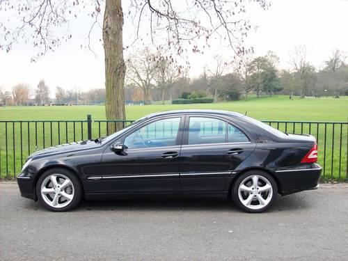 2006 Mercedes-Benz C Class 3.0 C280 Avantgarde SE 7G-Tronic 4dr For Sale (picture 3 of 6)