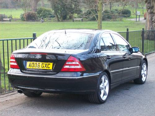 2006 Mercedes-Benz C Class 3.0 C280 Avantgarde SE 7G-Tronic 4dr For Sale (picture 4 of 6)