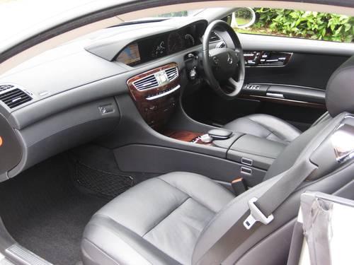 2007 Mercedes Benz CL500 In Rare Designo Silver Pearl For Sale (picture 3 of 6)