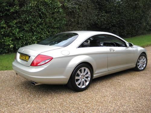 2007 Mercedes Benz CL500 In Rare Designo Silver Pearl For Sale (picture 5 of 6)