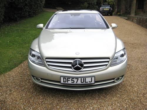 2007 Mercedes Benz CL500 In Rare Designo Silver Pearl For Sale (picture 6 of 6)