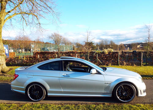 2012 Mercedes AMG C63 Coupe c/w pano roof +19 For Sale (picture 1 of 6)