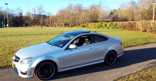 2012 Mercedes AMG C63 Coupe c/w pano roof +19 For Sale (picture 2 of 6)