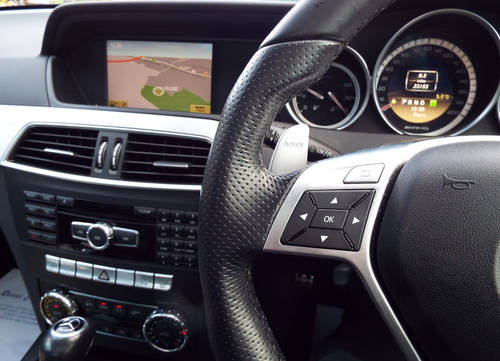 2012 Mercedes AMG C63 Coupe c/w pano roof +19 For Sale (picture 6 of 6)