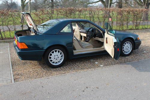 1996 Stunning SL320 with FSH bills for 10k++ Over 120 pics online For Sale (picture 6 of 6)