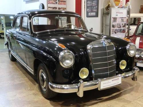 MERCEDES BENZ 220 S PONTON W180 II - 1957 For Sale (picture 1 of 6)
