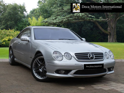 2002/52 Mercedes CL55 AMG F1 Limited Edition 40/55 L.H.D  For Sale (picture 1 of 6)