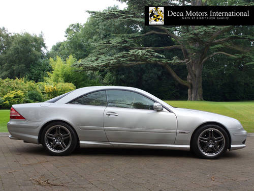 2002/52 Mercedes CL55 AMG F1 Limited Edition 40/55 L.H.D  For Sale (picture 2 of 6)