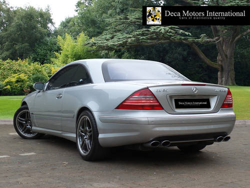 2002/52 Mercedes CL55 AMG F1 Limited Edition 40/55 L.H.D  For Sale (picture 3 of 6)