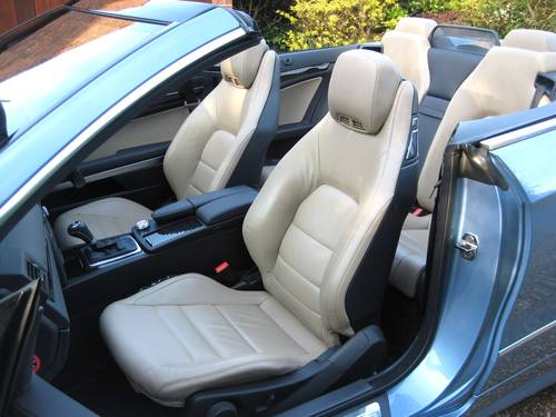 2012 Mercedes Benz E250 CDI BlueEfficiency AMG Sport Convertible For Sale (picture 4 of 6)