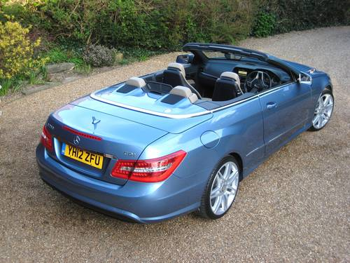 2012 Mercedes Benz E250 CDI BlueEfficiency AMG Sport Convertible For Sale (picture 6 of 6)