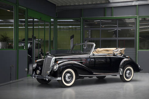 1954 Mercedes-Benz 220 W187 Cabriolet A SOLD (picture 1 of 6)