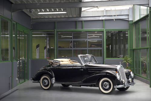 1954 Mercedes-Benz 220 W187 Cabriolet A SOLD (picture 2 of 6)