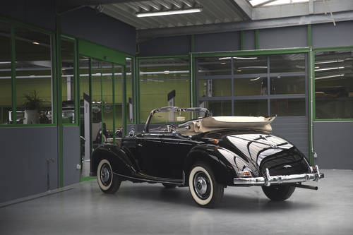 1954 Mercedes-Benz 220 W187 Cabriolet A SOLD (picture 3 of 6)