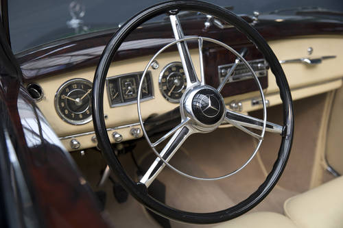 1954 Mercedes-Benz 220 W187 Cabriolet A SOLD (picture 4 of 6)