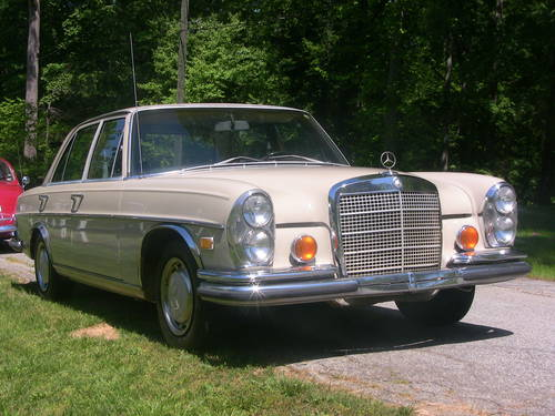 1971 Mercedes Benz 280 SE Sedan For Sale (picture 1 of 6)