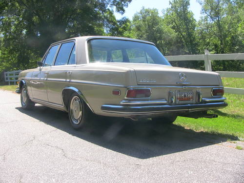 1971 Mercedes Benz 280 SE Sedan For Sale (picture 2 of 6)