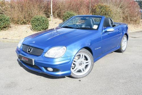 2002 Mercedes SLK32 AMG - 25,000 Miles   SOLD, Similiar Required For Sale (picture 1 of 6)
