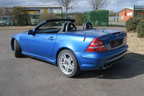 2002 Mercedes SLK32 AMG - 25,000 Miles   SOLD, Similiar Required For Sale (picture 2 of 6)